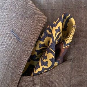 Other - Silk pocket square.